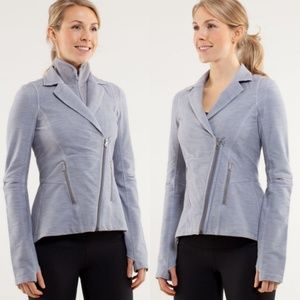 Lululemon ride on rock gray blazer jacket